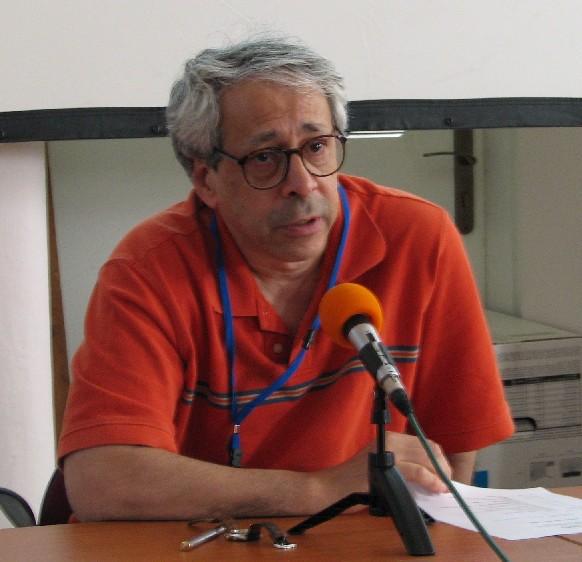 Andrew Lass při zahájení semináře