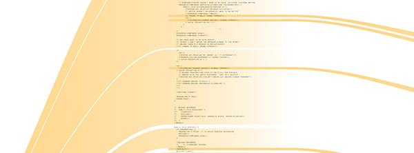 Projekt Revisionist, vizualizace proměn zdrojového kódu software Processing