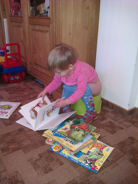 Čtenářka Dáda zvládá bez problémů i multi-tasking