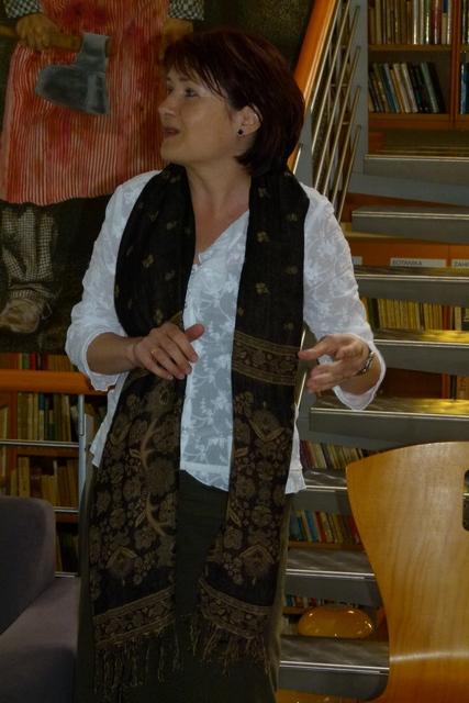 Blanka Oujezdská, vedoucí Infocentra s knihovnou Praha – Kolovraty