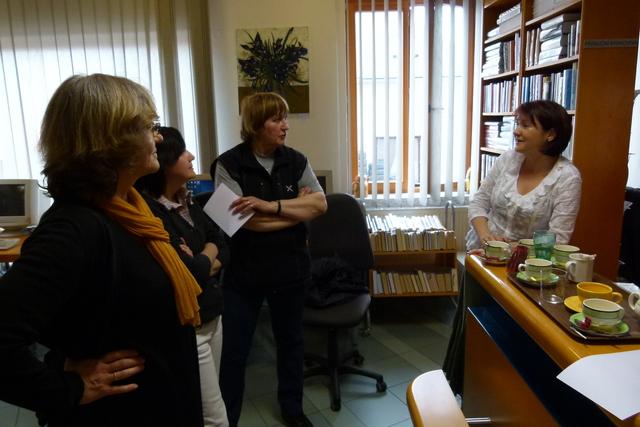 Diskuse s účastníky exkurze
