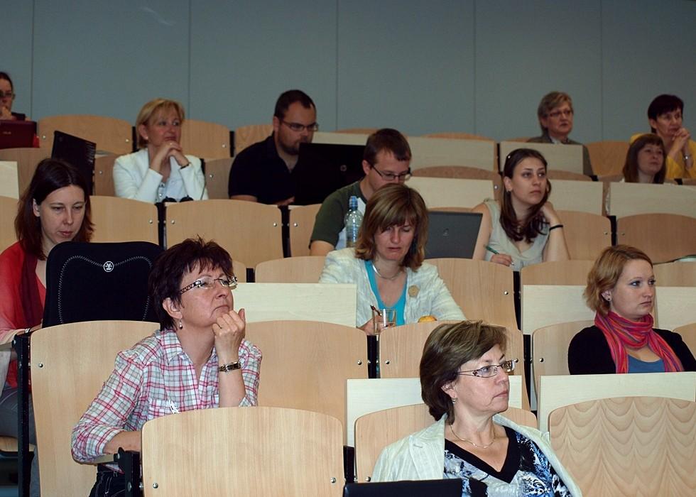 Účastníci 4. setkání českých uživatelů systému DSpace