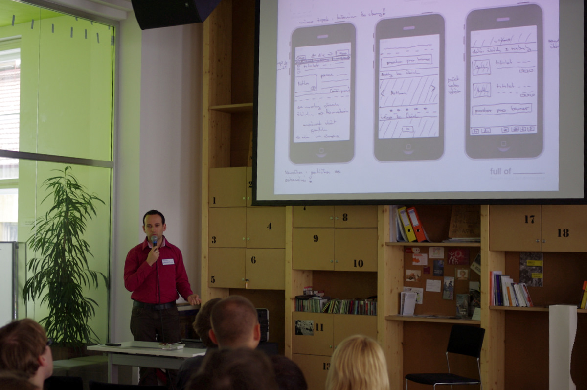 Michal Bilka: Při návrhu aplikace vysvětlujte svou práci a uvádějte příklady. Korporace se bude bránit, ale bossové nejsou cílovými uživateli