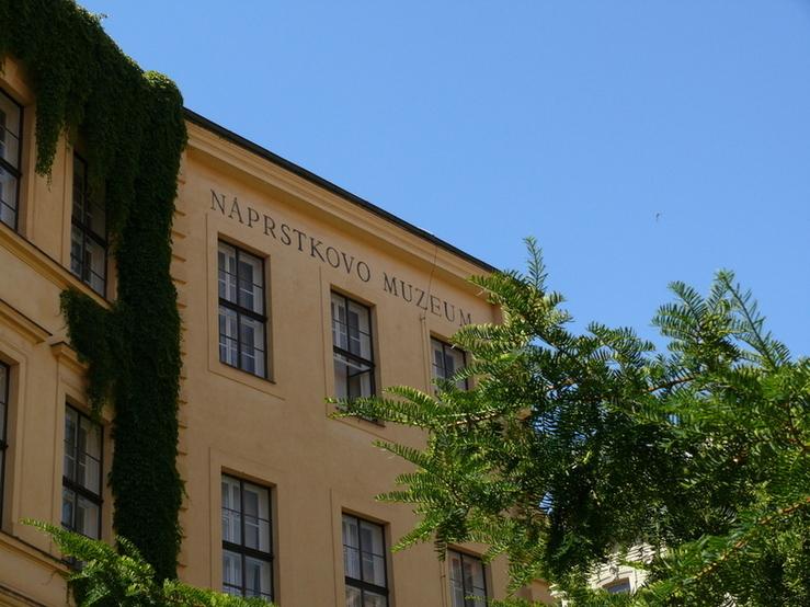 Náprstkovo muzeum zvenčí