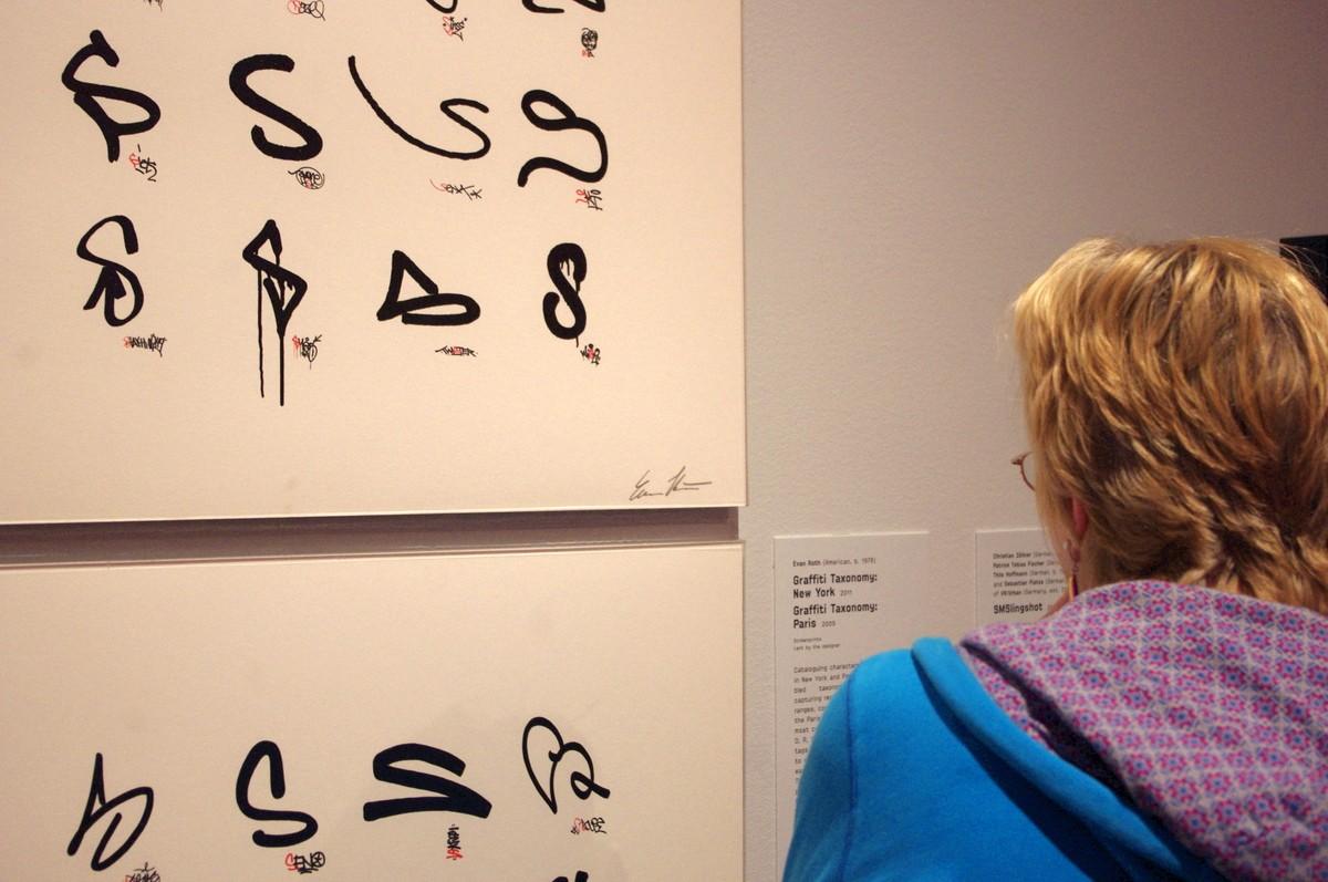 Taxonomie symbolů používaných sprejery v New Yorku a Paříži