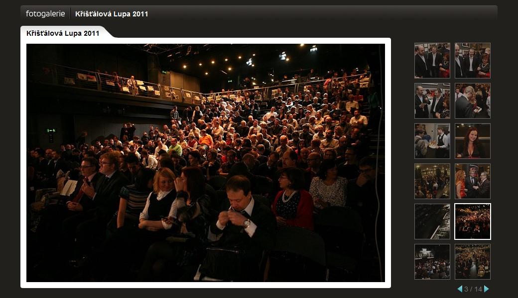 Fotogalerie ze slavnostního večera v divadle Archa