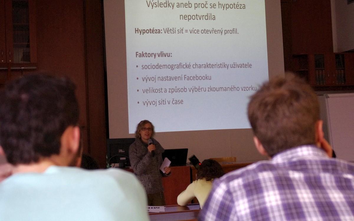 Veronika Trachtová ve svém výzkumu mimo jiné hodnotila otevřenost a uzavřenost profilů