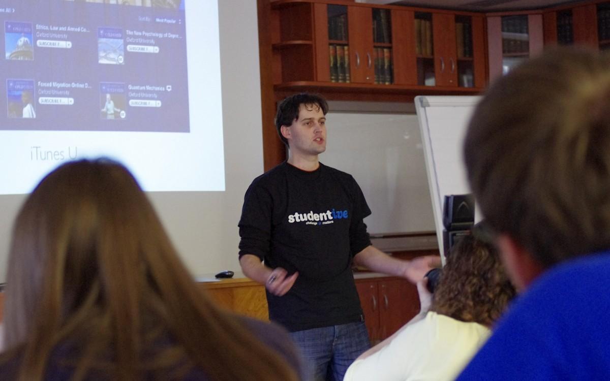 Petr Bela hovoří o nových trendech v oblasti vzdělávání