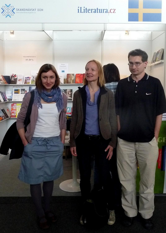Portál iliteratura.cz byl na Světě knihy vroce 2012 zastoupen vůbec poprvé