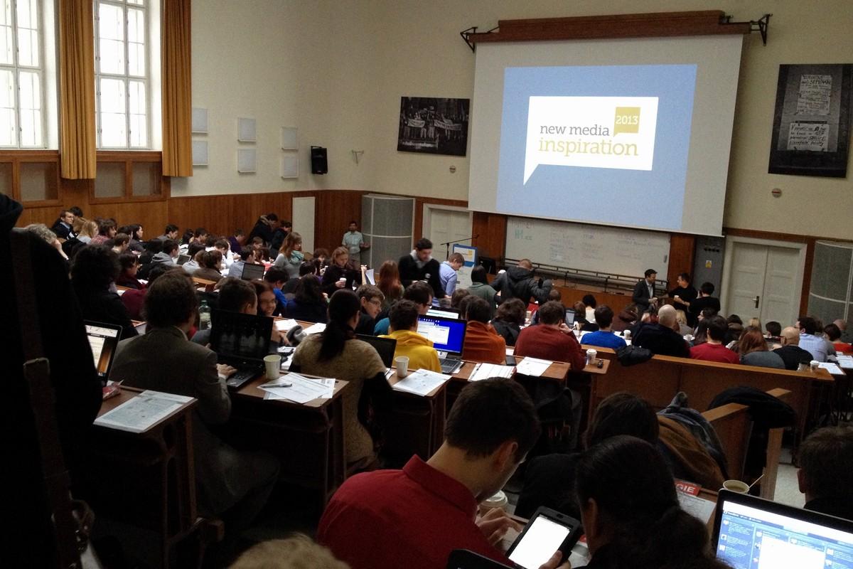 Zahájení konference New Media Inspiration