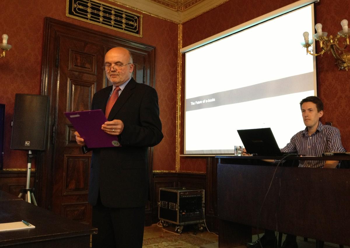 Workshop zahájil Jiří Kadleček z Albertiny icome Praha