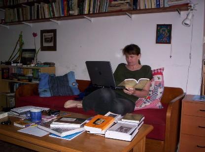 Knihovnice může pracovat kdekoliv