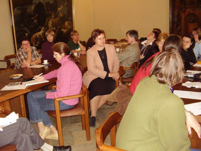 Workshop – spolupráce mezi pražskými knihovnami