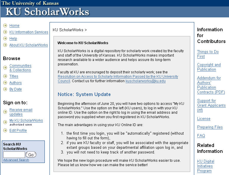 KU ScholarWorks