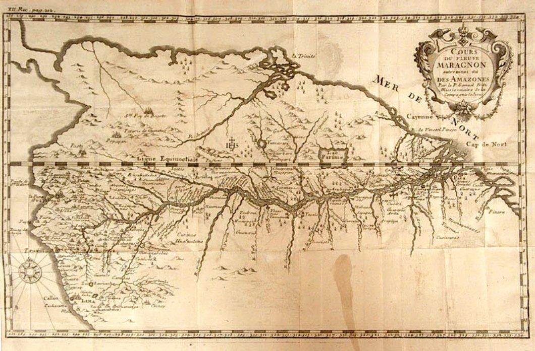 Fritzova mapa Amazonky