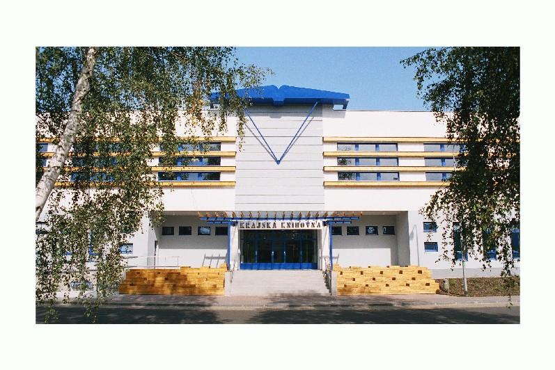 Eurocentrum sídlí v budově Krajské knihovny