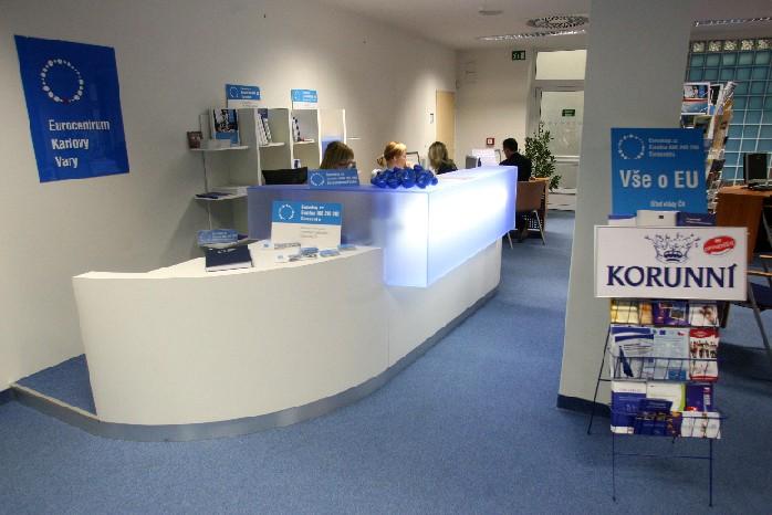 Eurocentrum je otevřeno každý všední den od 10 do 18 hodin