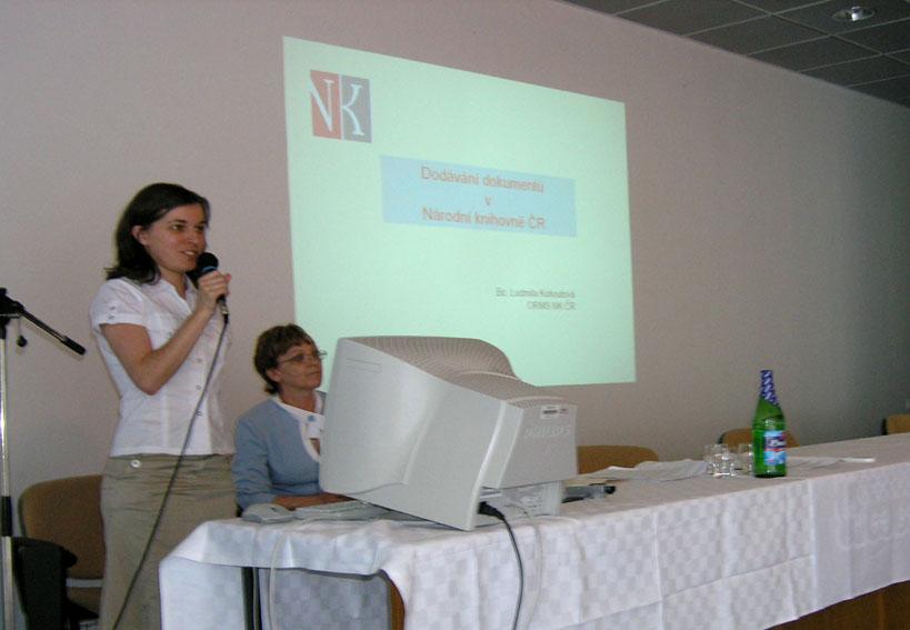 Ludmila Kohoutová, NK ČR