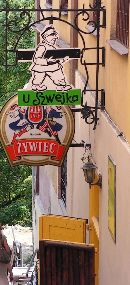 Švejk - Sanok - hospoda