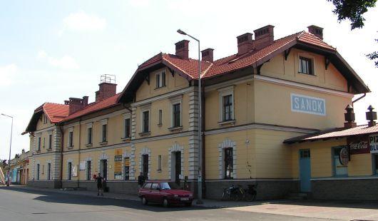 Sanok - nádraží