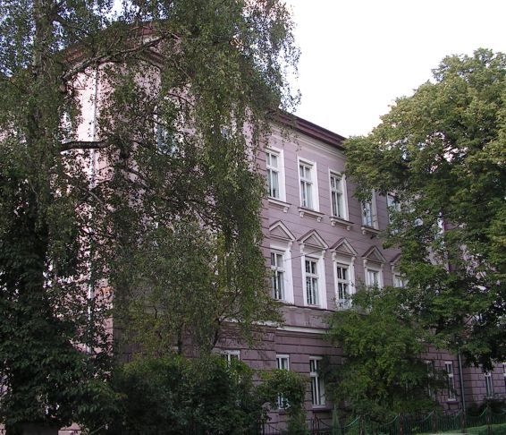 Švejk - Sanok -  gymnázium královny Žofie