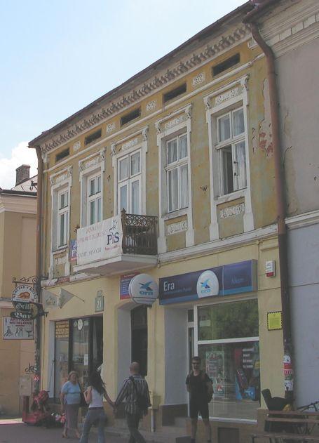 Švejk - Sanok - bývalá Krakovská banka