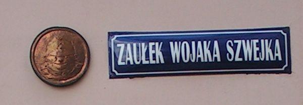 Švejk - Přemyšl - ulička