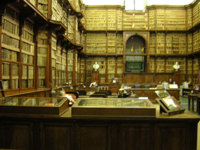 Návštěva knihovny Biblioteca Angelica