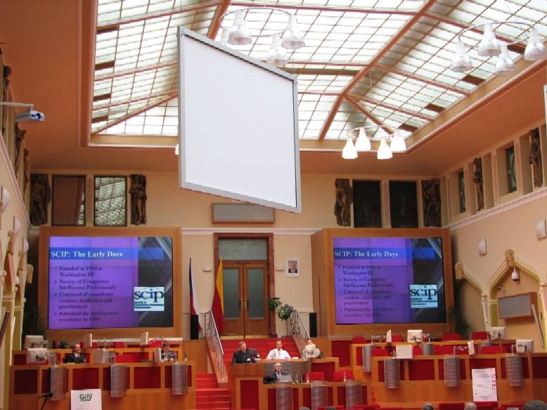 Interiér Magistrátu hl. m. Prahy