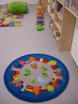 ...a další z kruhů v knihovně