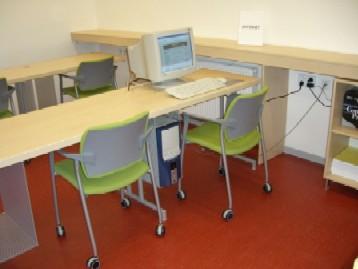 Nadace Hermann-Niermann-Stiftung přislíbila pro vybavení výpočetní technikou ještě další prostředky...