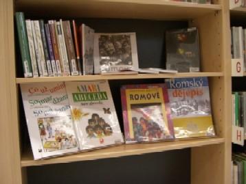 K dispozici je také literatura v romštině