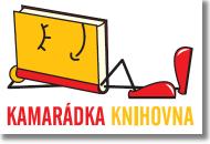Kamarádka knihovna - logo