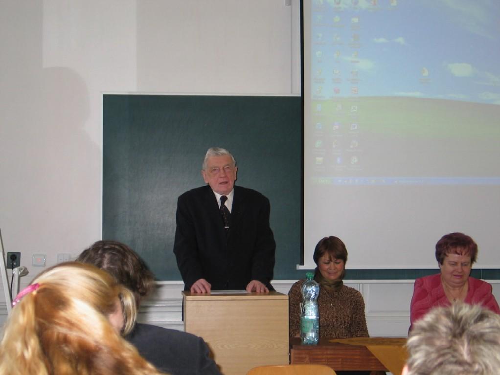 Doc. PhDr. Jiří Urbanec, CSc.; Mgr. Jana Galášková; doc. PhDr. Milada Písková, CSc.