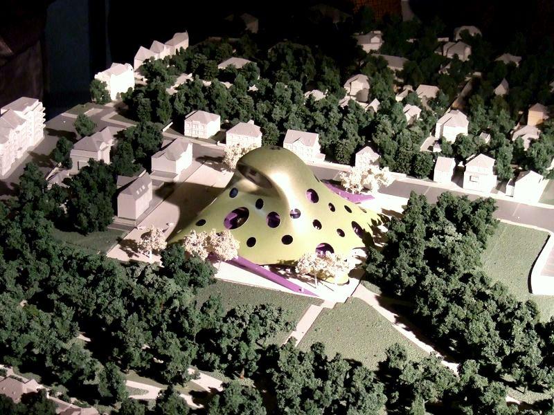Vítězný projekt nové budovy NK ČR