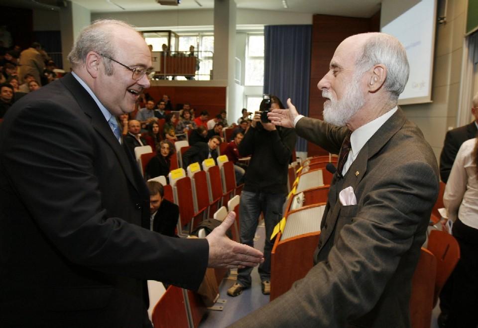 Přednáška: V. Cerf, J. Gruntorád