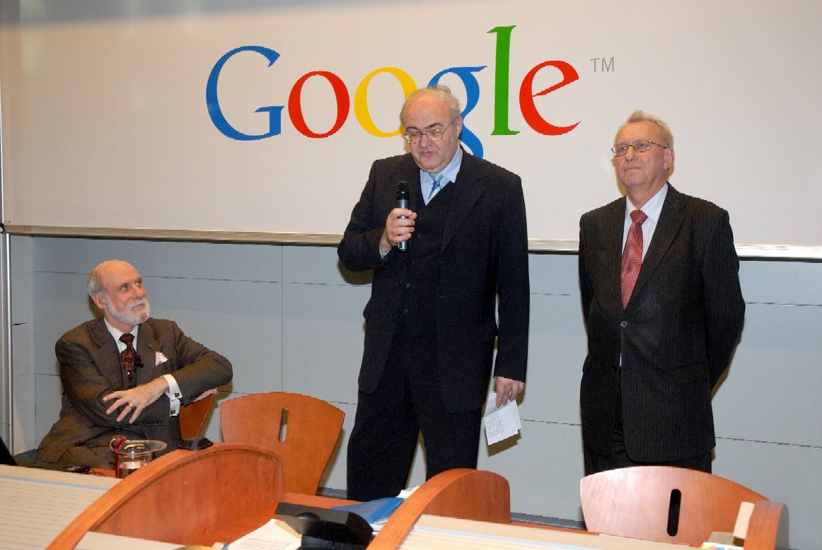 Přednáška: V. Cerf, J. Gruntorád, J. Havlíček