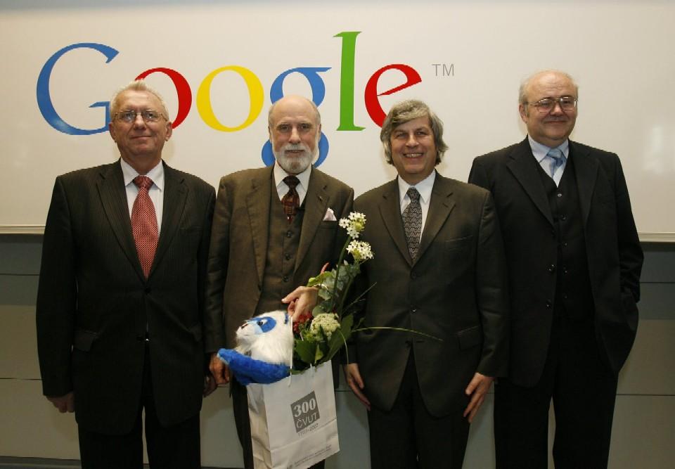 Přednáška: V. Havlíček, V. Cerf, M. Vlček, J. Gruntorád