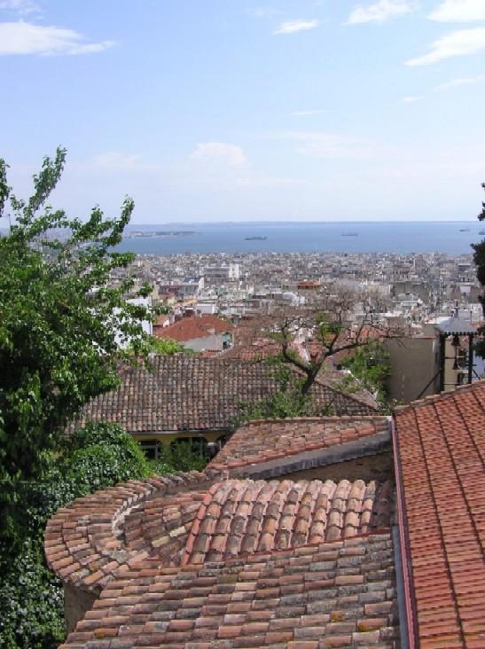 Obr. 6: Od hradeb a pevnosti se nabízejí pěkné výhledy na město a moře
