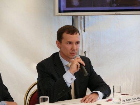 Ing. Michal Pavlík, MBA, předseda představenstva Dexia Kommunalkredit Czech Republic