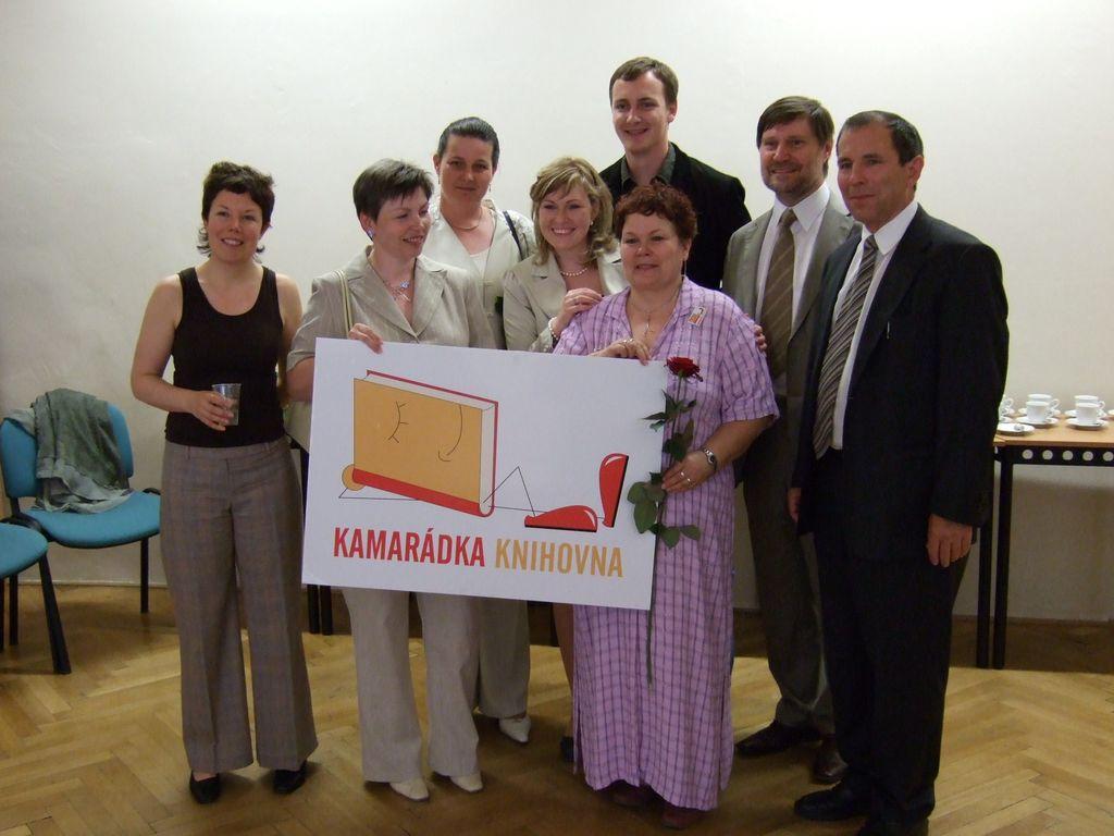 Kamarádka knihovna a její kamarádi