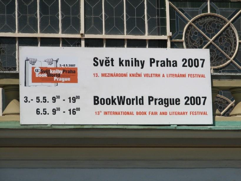 Upoutávka na Svět knihy Praha 2007