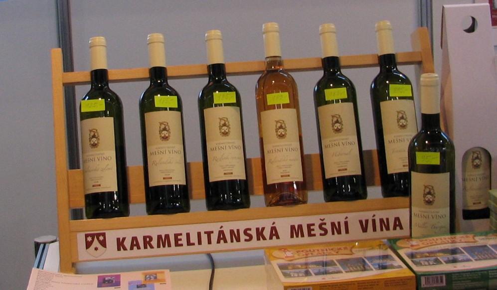 Mešní víno od karmelitánů