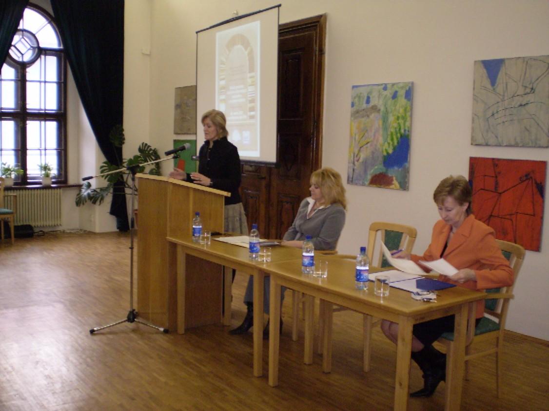 Podujatie otvorila riaditelka SVK v Banskej Bystrici, PhDr. Oľga Lauková