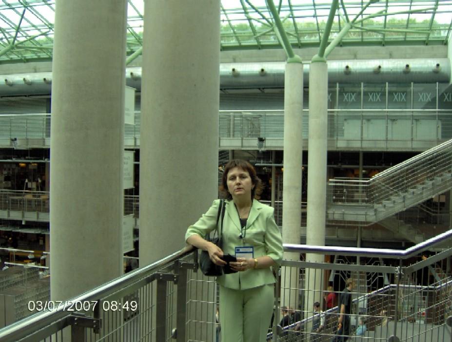 Při prohlídce Univerzitní knihovny