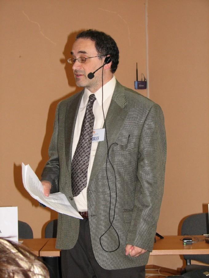 Přednášející Brian Rosenblum