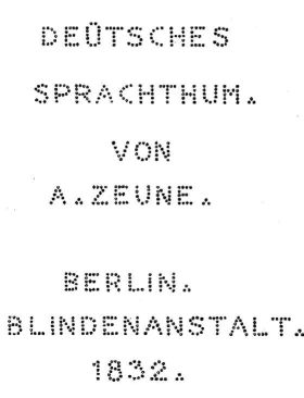 Obrázek 7: Kleinova bodová latinka