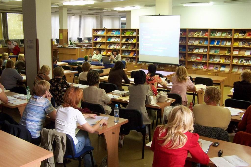 Účastníci podujatia Dni vedeckých knižníc 2007, Prešov 3.-5.9.2007