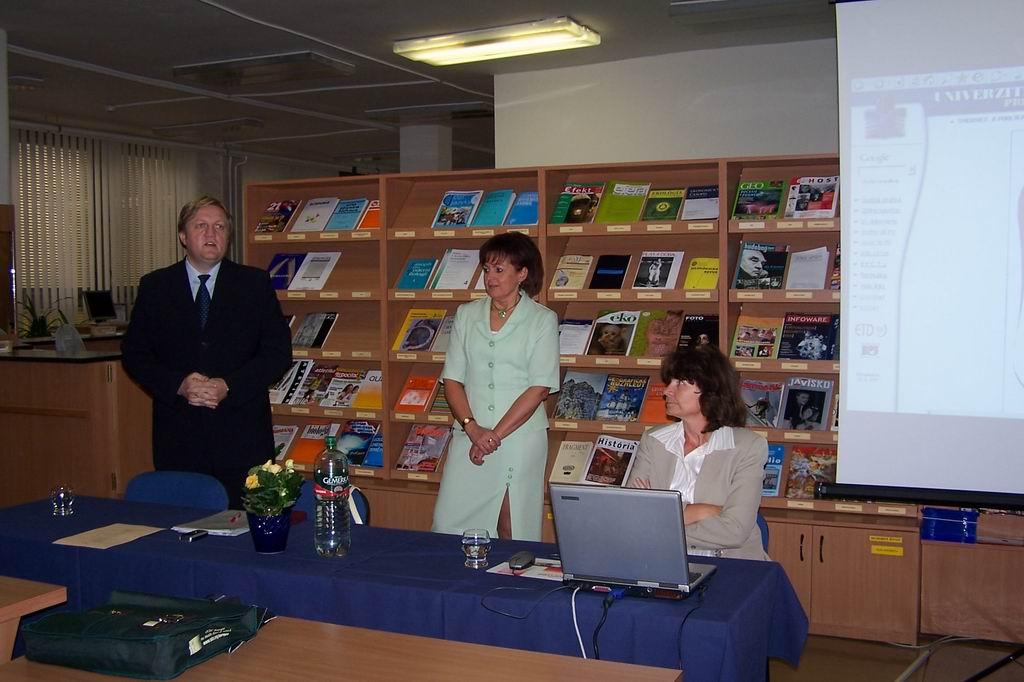Ing. Peter Haľko, Dr. Anna Kucianová, Mgr. Jarmila Majerová