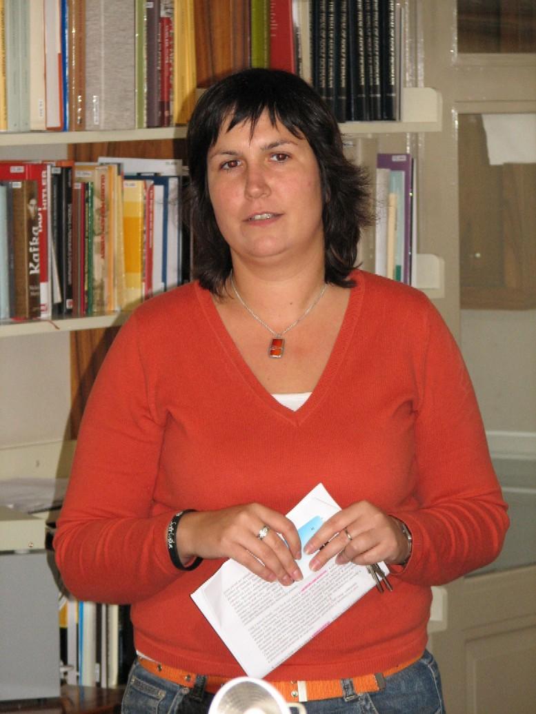 Naše průvodkyně Markéta Kotyzová